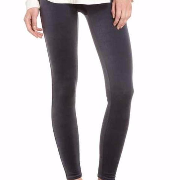 6b7fcf5ff Spanx Velvet Leggings
